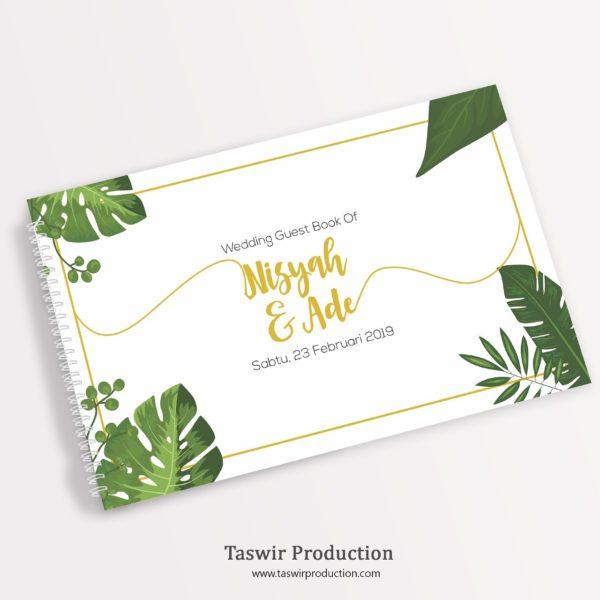 Buku Tamu Pernikahan Custom Jogja